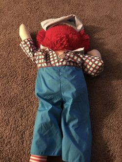 """APPLAUSE RAGGEDY ANDY 25"""" DOLL Thumbnail"""