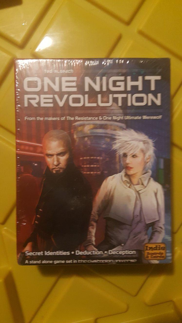 One Night Revolution Game