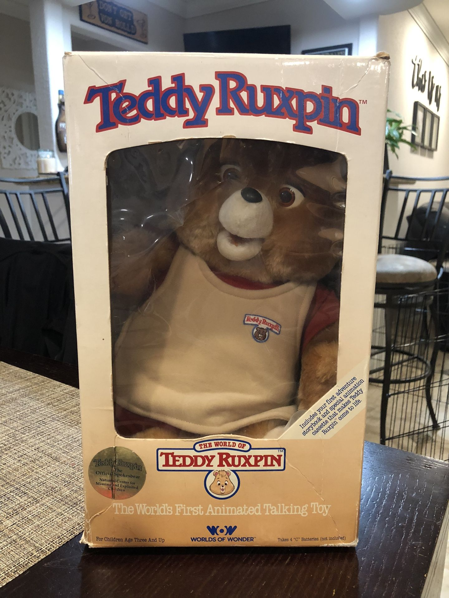 Collectible Teddy Ruskin Toy