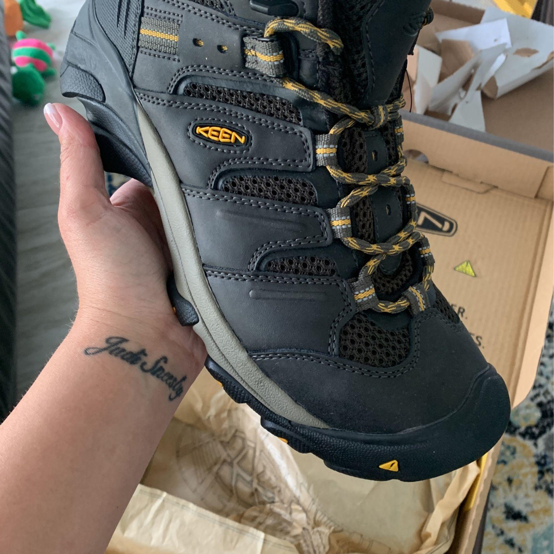 Steel Toe Utility Boots