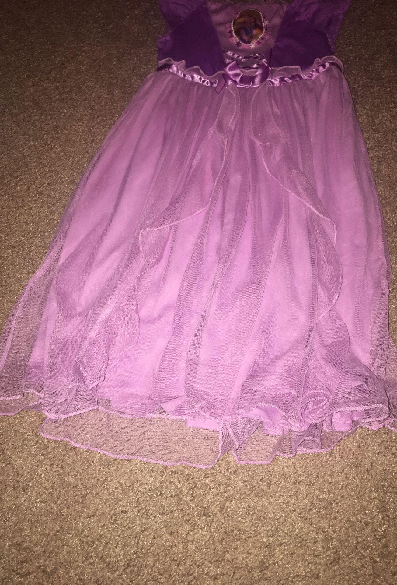 Disney rapunzel dress/night gown