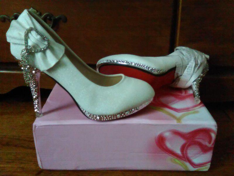 6 1/2 - Size,  Wedding Heels