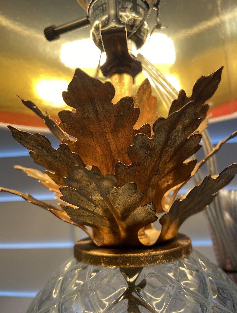Glass Pineapple Table Lamp Brass - Opalhouse™