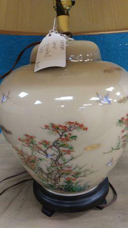 Vintage Oriental Style Lamp Thumbnail