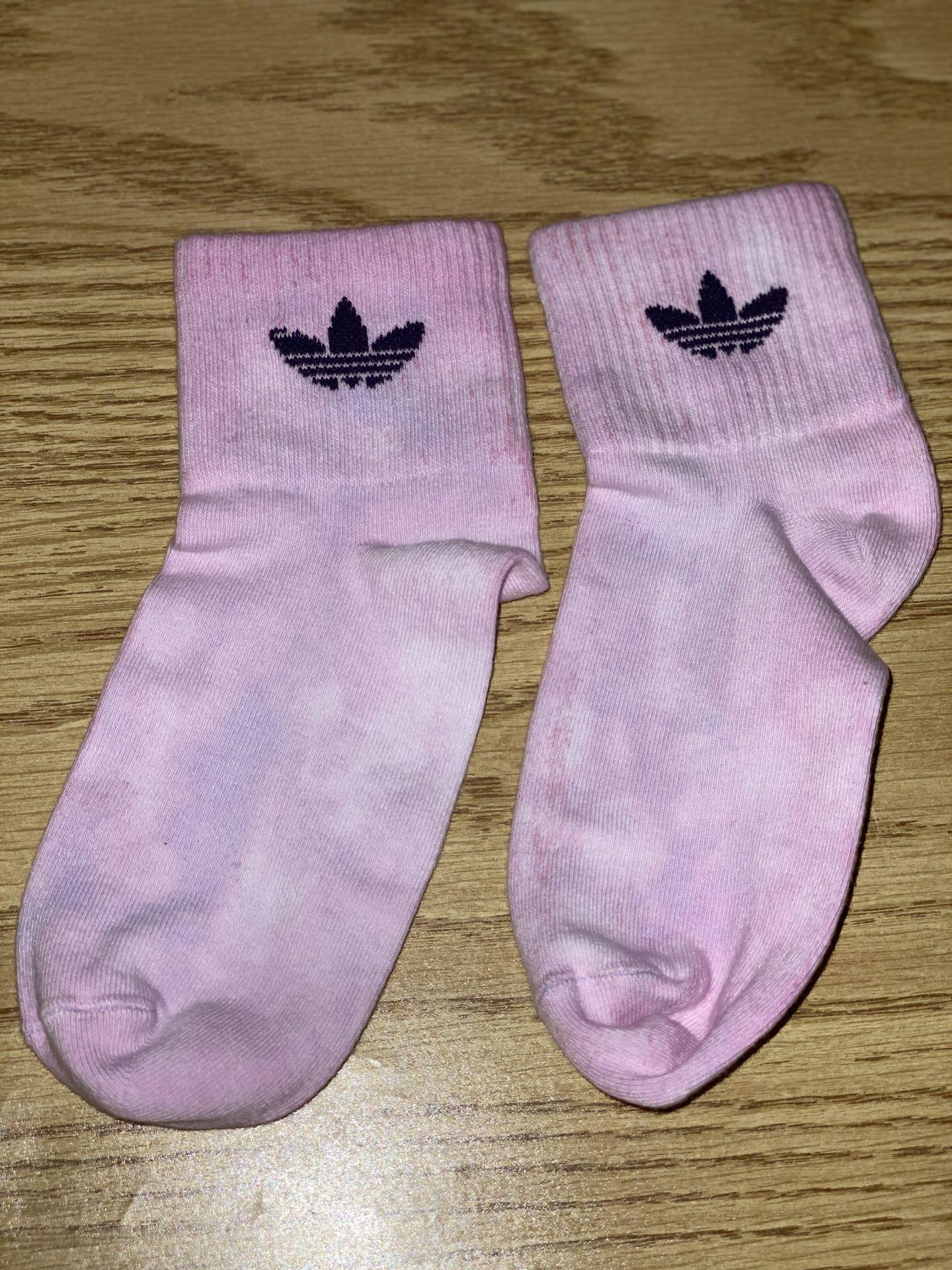 Adidas bleached socks