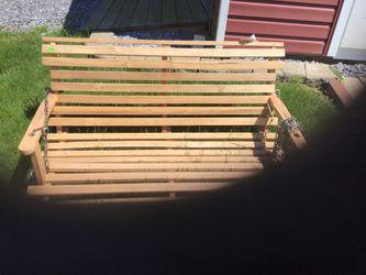 Wooden swing Thumbnail