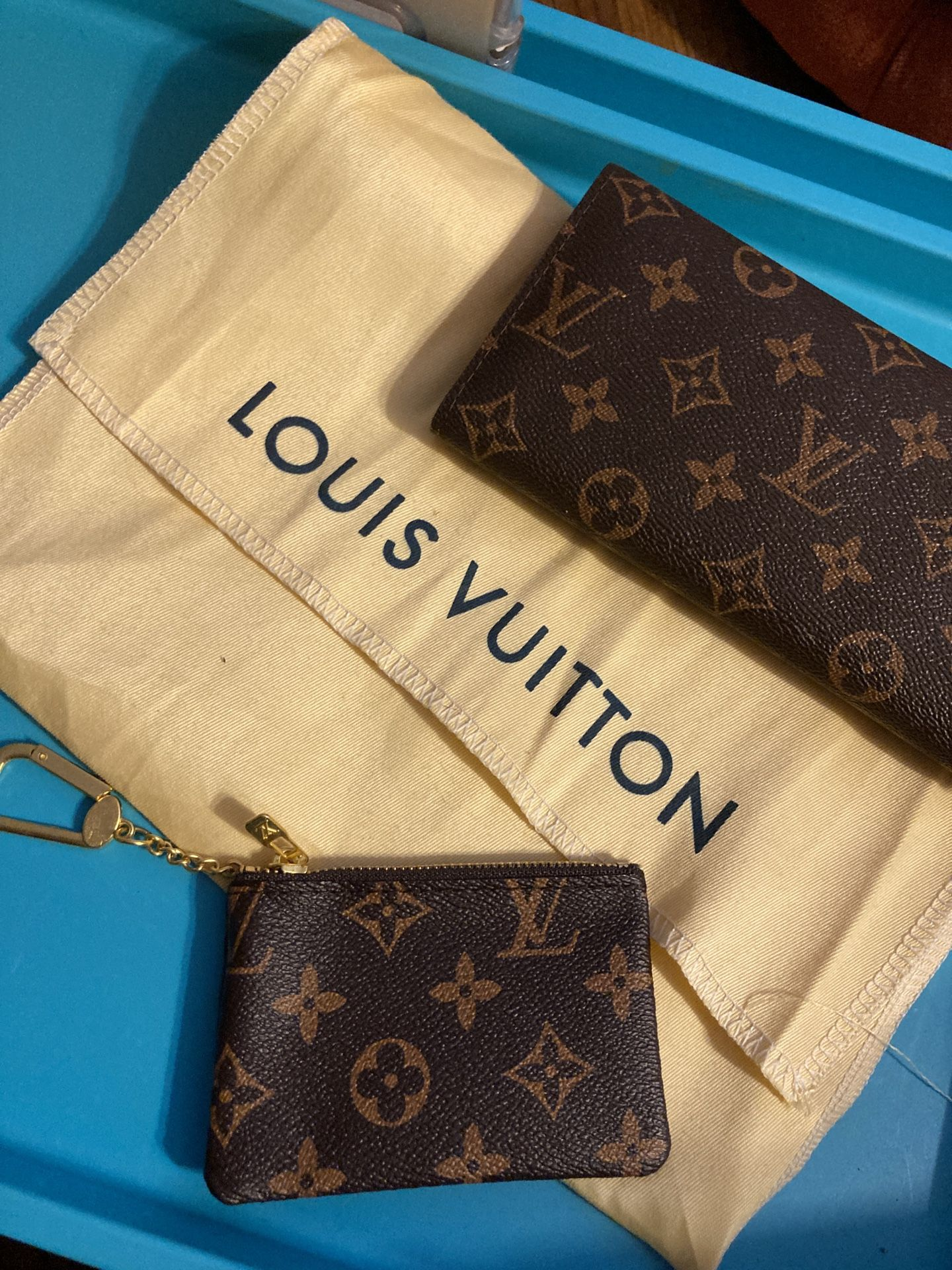 LV Wallet And Keychain Bundle