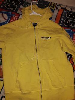 Yellow Adidas Hoodie Thumbnail