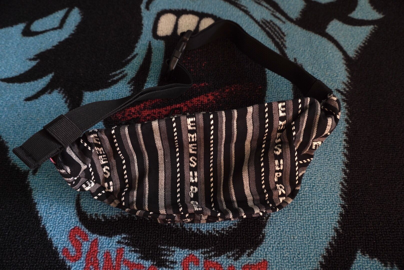 Supreme woven Fanny pack