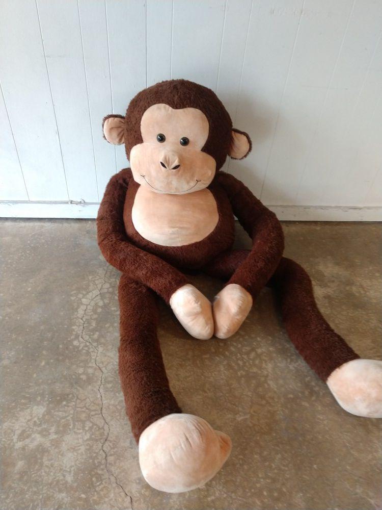 6.5 foot stuffed animal monkey huge toy