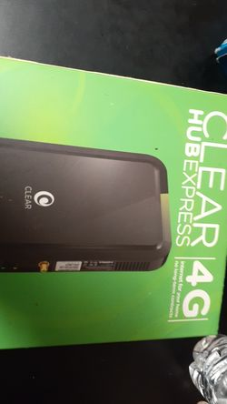 Clear 2 n 1 modem and Router Thumbnail
