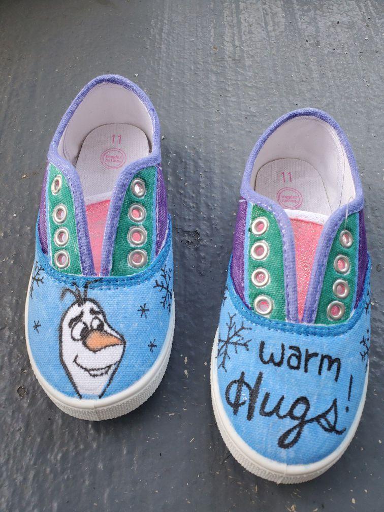 Frozen Olaf Shoes
