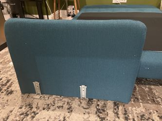 Convertible Love Seat Folds Out To Twin Bed Thumbnail
