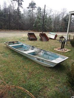 14 Ft. Aluminum Flat Bottom Boat Thumbnail
