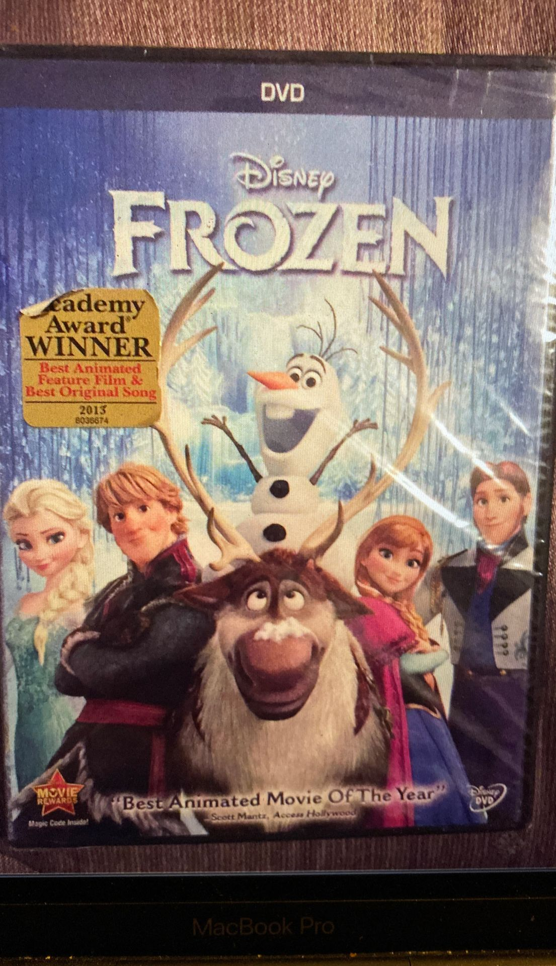 Frozen DVD -brand new, sealed