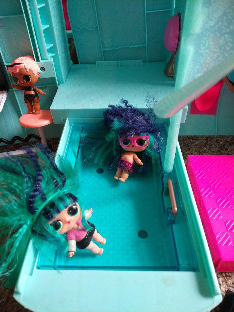 Lol Doll Camper