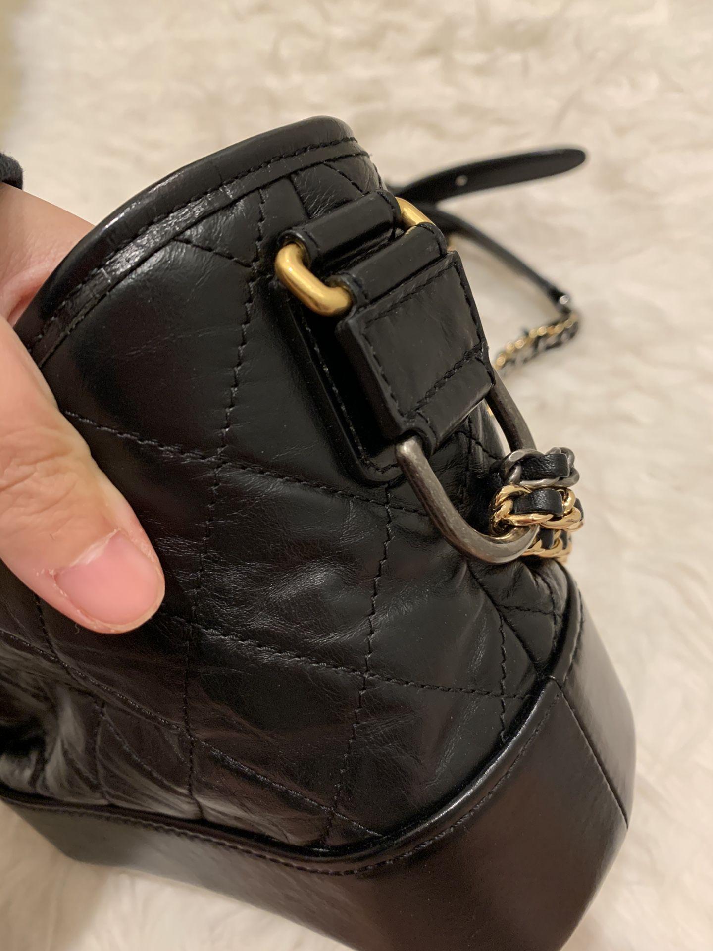 Authentic Chanel Gabrielle Hebo Black Bag,