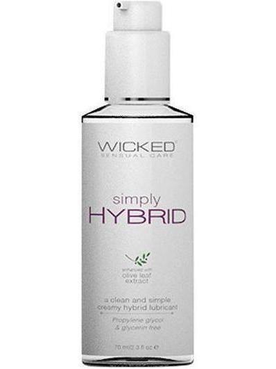 Wicked Sensual Care Simply Hybrid Lubricant - 2.3 oz