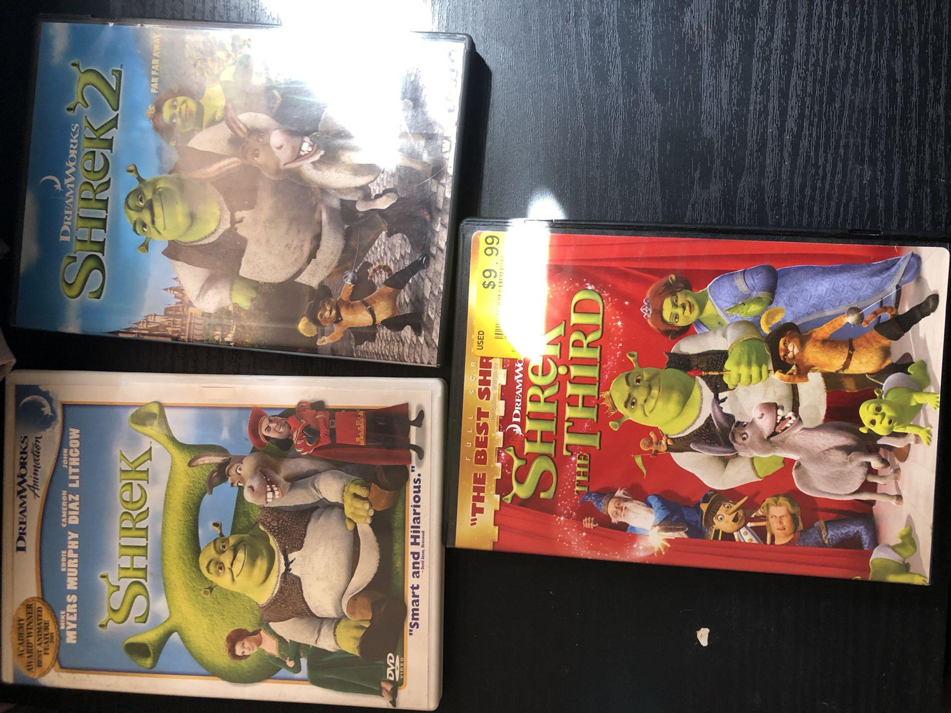 Shrek 1-3  Bundle Deal