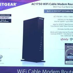 Netgear WiFi Cable Modem Router Thumbnail