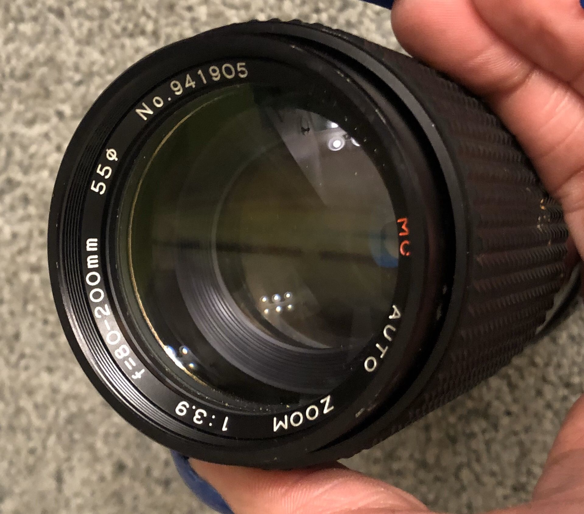 Canon 80mm-200mm lense