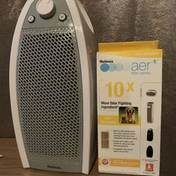 Holmes HAP9412W HEPA-Mini Tower Air Cleaner Purifier Filtration System & Filter Thumbnail