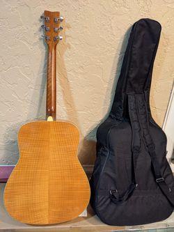 Yamaha Acoustic Guitar FG740SFM flamed maple Thumbnail
