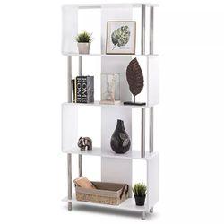 Modern 4 Shelf Bookcase Thumbnail