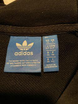 Cropped Adidas Black Sweatshirt / Hoodie  Thumbnail