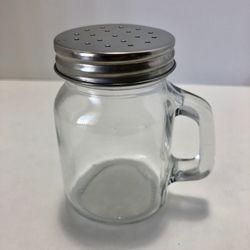 Salt Spice Shaker Mason Jar Stainless Steel Cap Thumbnail