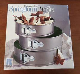 Springform cake pan set Thumbnail