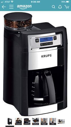 Krups coffee maker Thumbnail