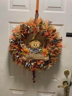 Homemade Custom Wreath  Thumbnail