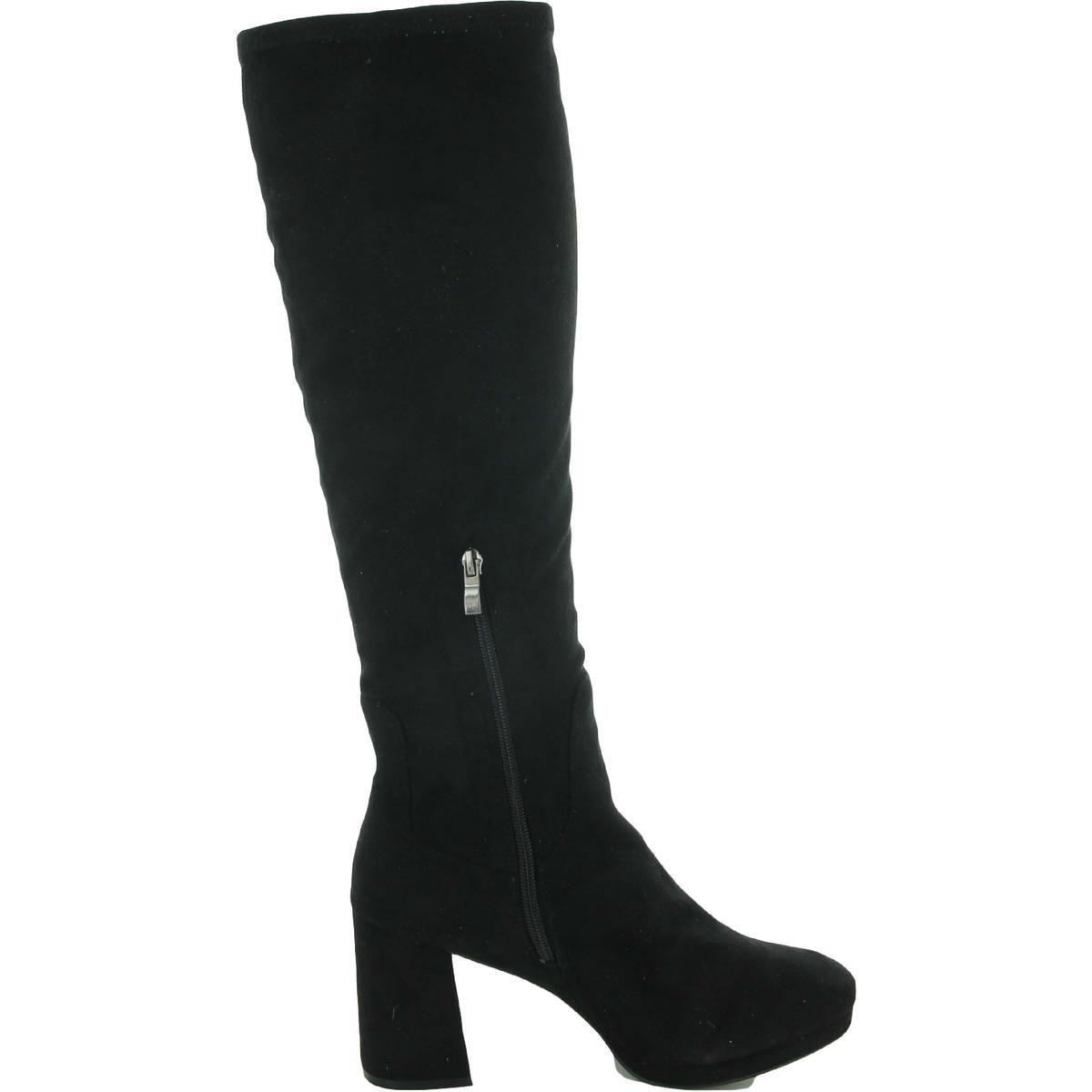 Olivia Miller Womens Fashion - Knee-High Black Size 10 Medium (B,M)