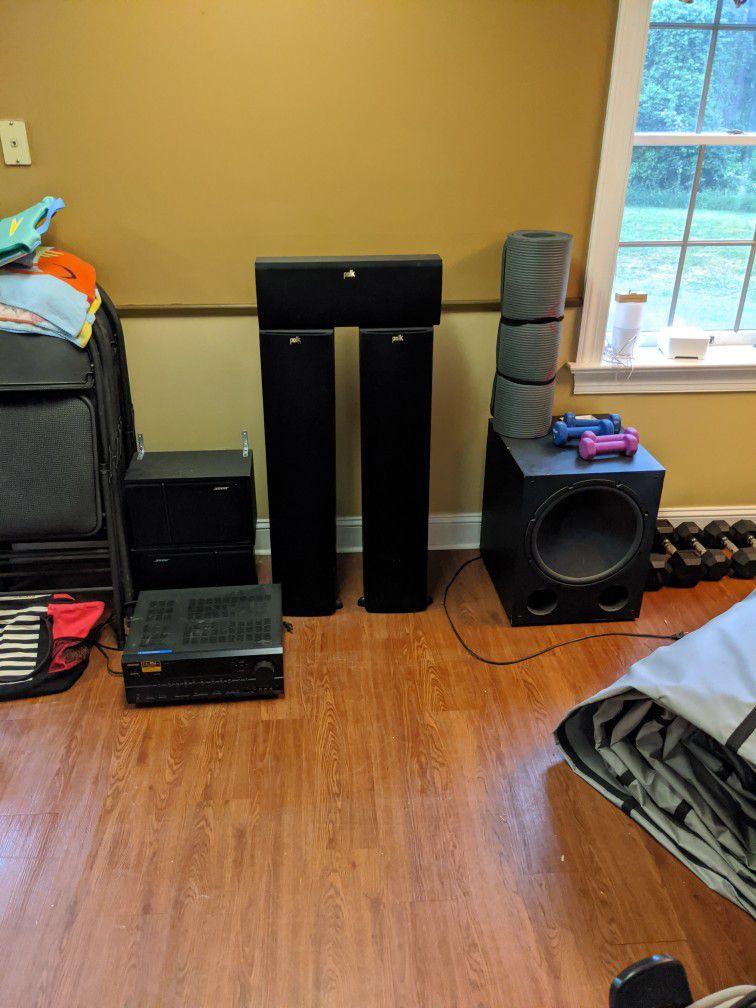 Home Theater System Plus Sonos Bridge!
