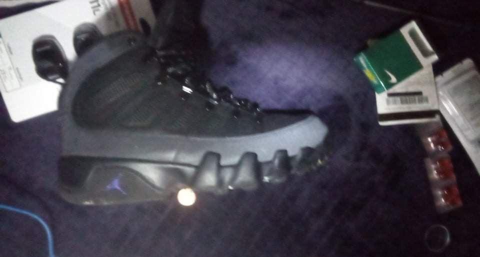 Jordan 9 Waterproof Size 8.5