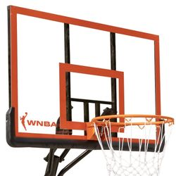 """Official WNBA 50"""" Portable Basketball Hoop with Polycarbonate Backboard Thumbnail"""
