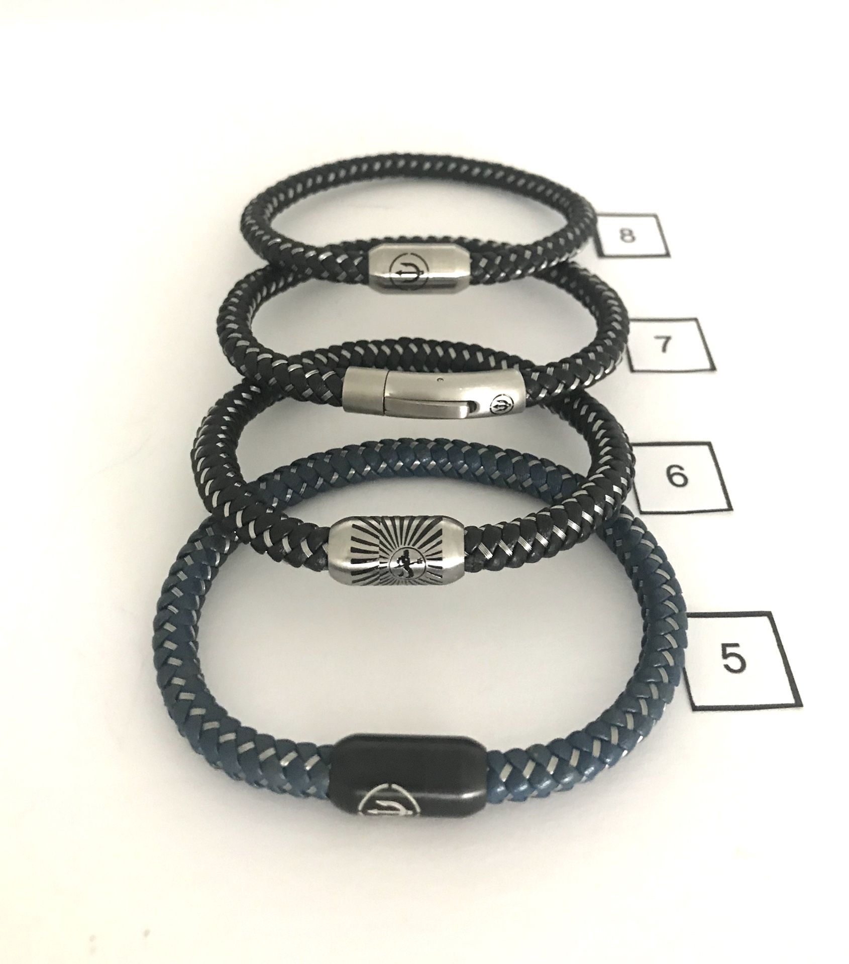 Bracelets . Leather And Rope . Clearance Collection