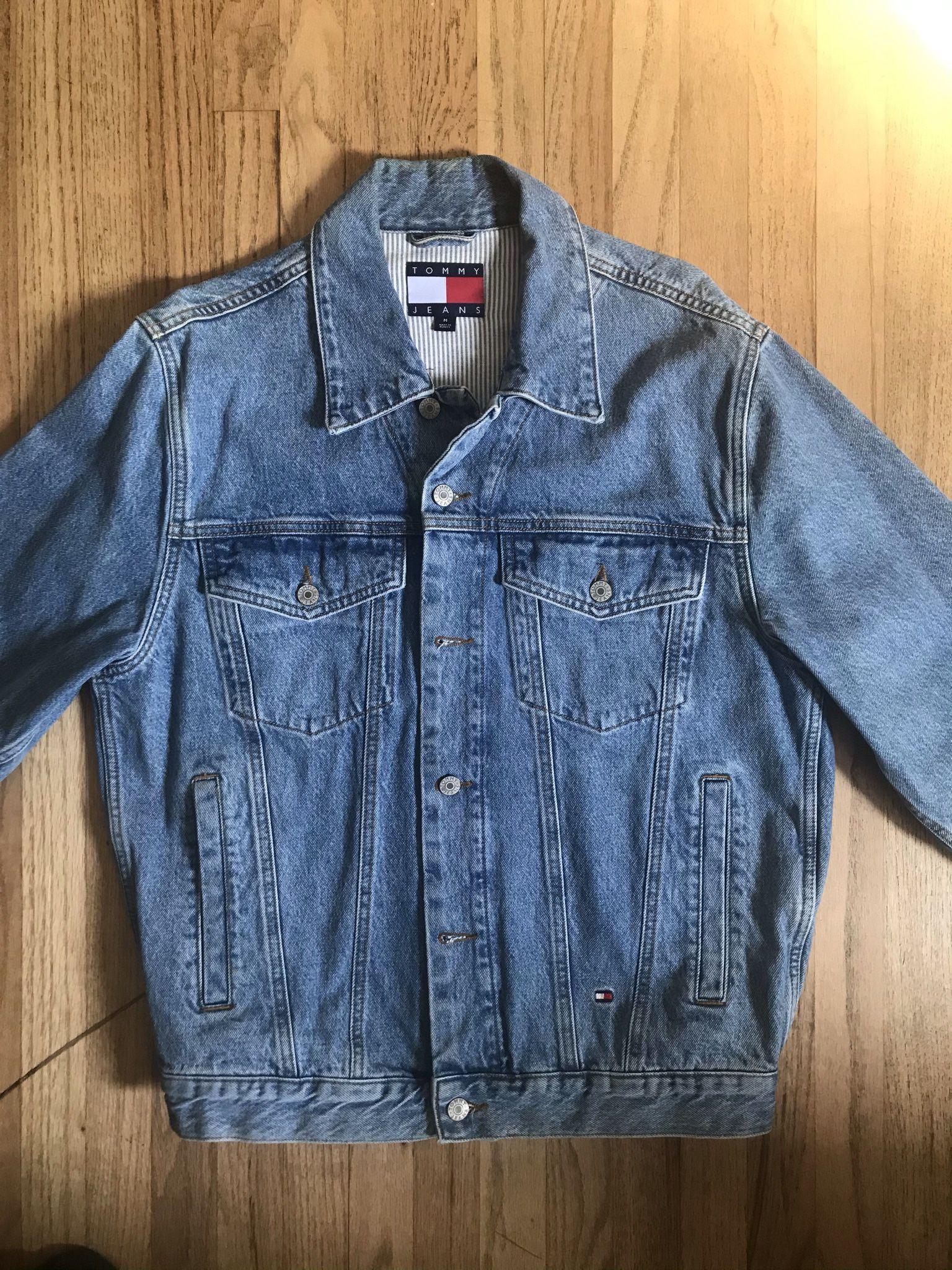 Tommy Hilfiger 90s Logo Denim Jacket
