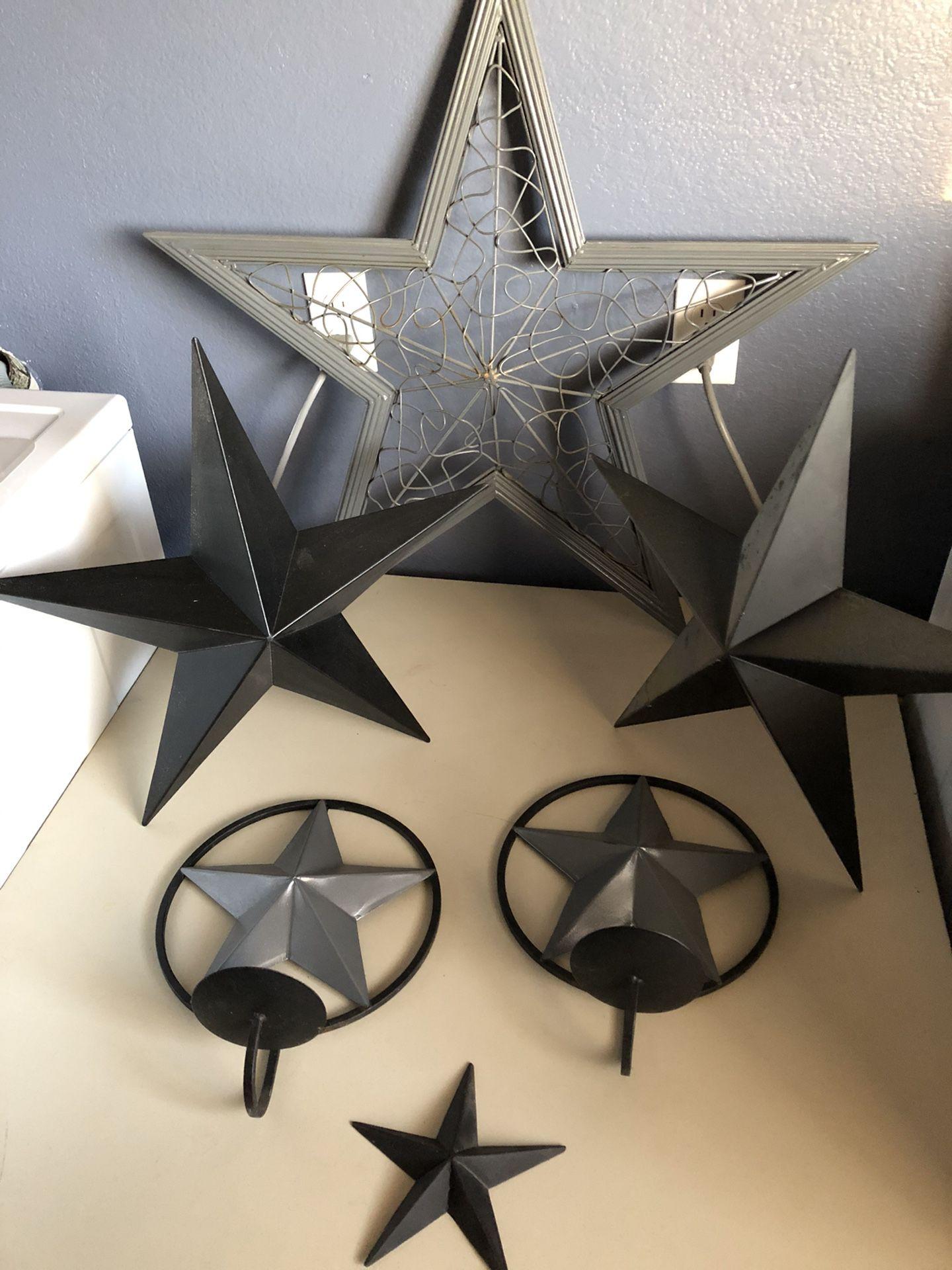 Star Decor - set of 6