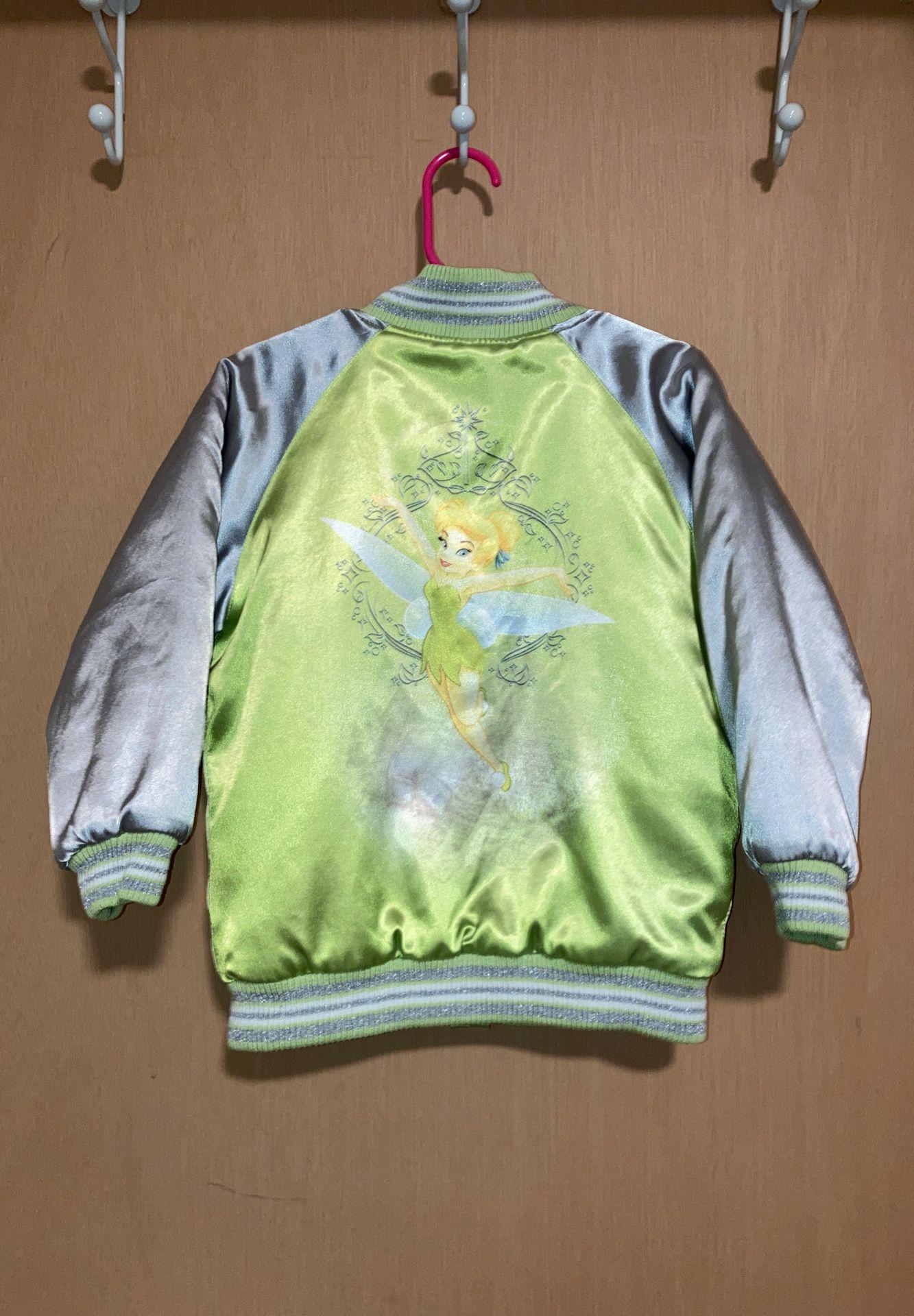 Disney TinkerBell Bomber Jacket for girls 4T