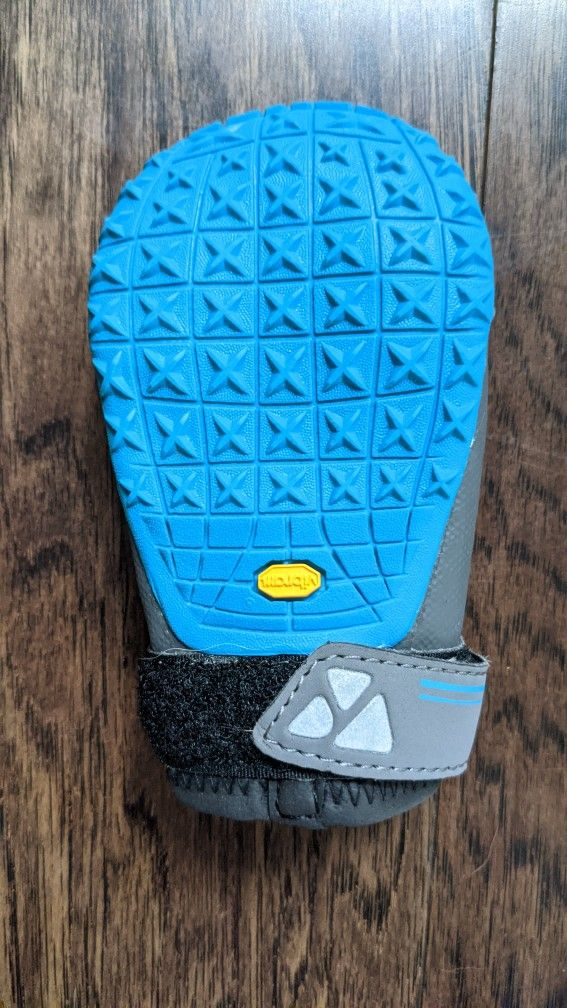 Ruff wear GripTrex Dog Boots In Blue