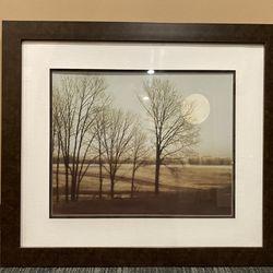 Framed Landscape Art Print Thumbnail