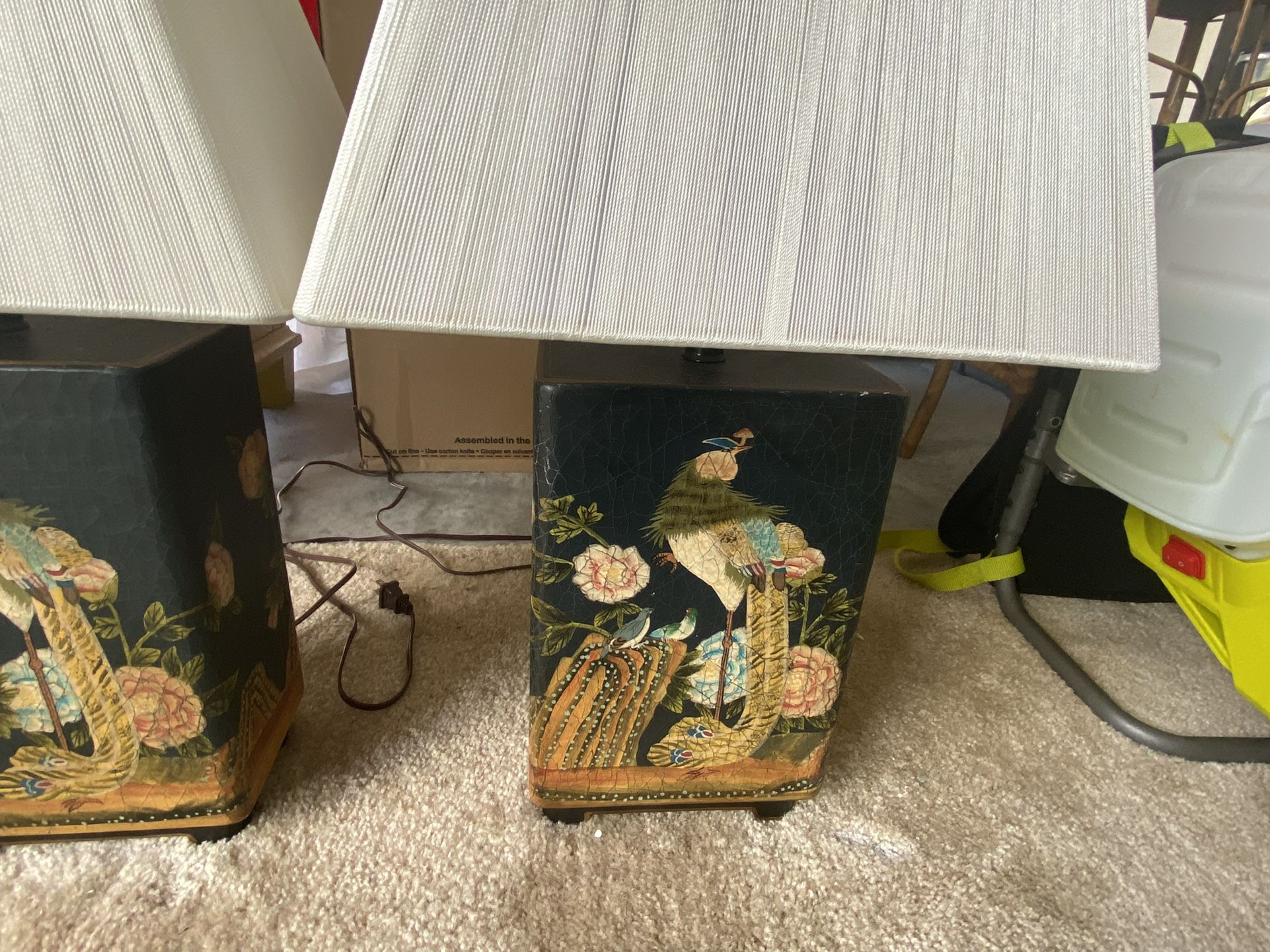 Vintage Asian Lamps With Beautiful Design