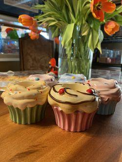 Cupcake tea light holders (5) Thumbnail