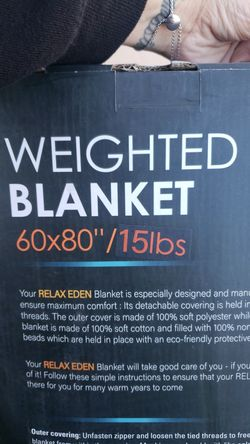 New weighted blanket Thumbnail