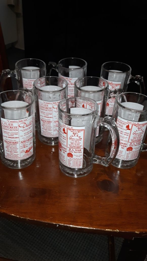 Beer glasses from Michigan