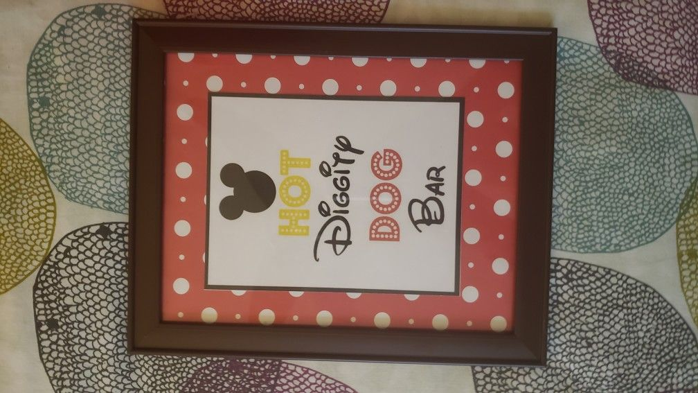 Mickey's Clubhouse birthday decorations
