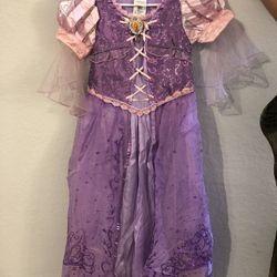 Disney rapunzel costume size 7-8 Thumbnail