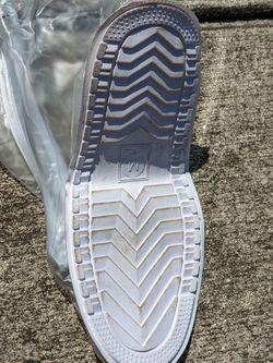 Rain Boot Waterproof Shoes Cover Women Men Kids Reusable PVC Rubber Sole Overshoes Thumbnail